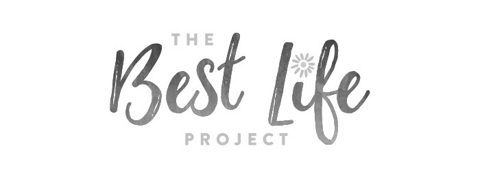 The best life project logo